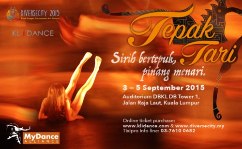 TEPAK TARI - KL International Arts Festival 2015