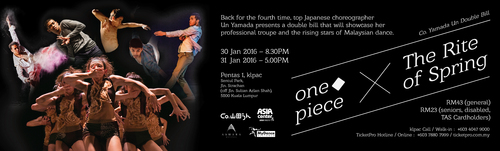 Co. Un Yamada Double Bill: one◆piece x The Rite of Spring